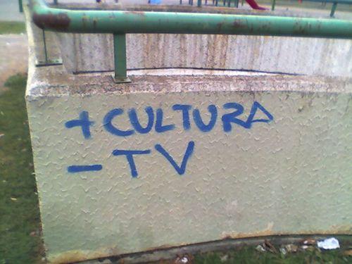 La tele no es cultura, pero ¿la cultura es tele?