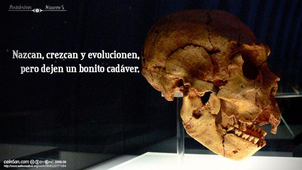 PPostalesivas nú 5 - Nazcan, crezcan y evolucionen, pero dejen un bonito cadáver