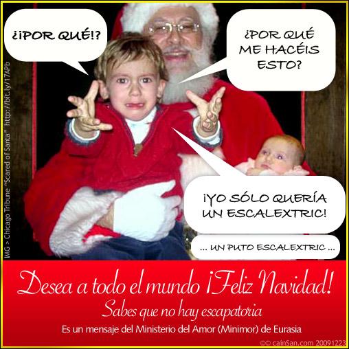 Desea Feliz Navidad